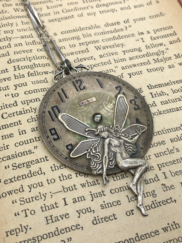 Magdalena, Victorian Fairy Necklace