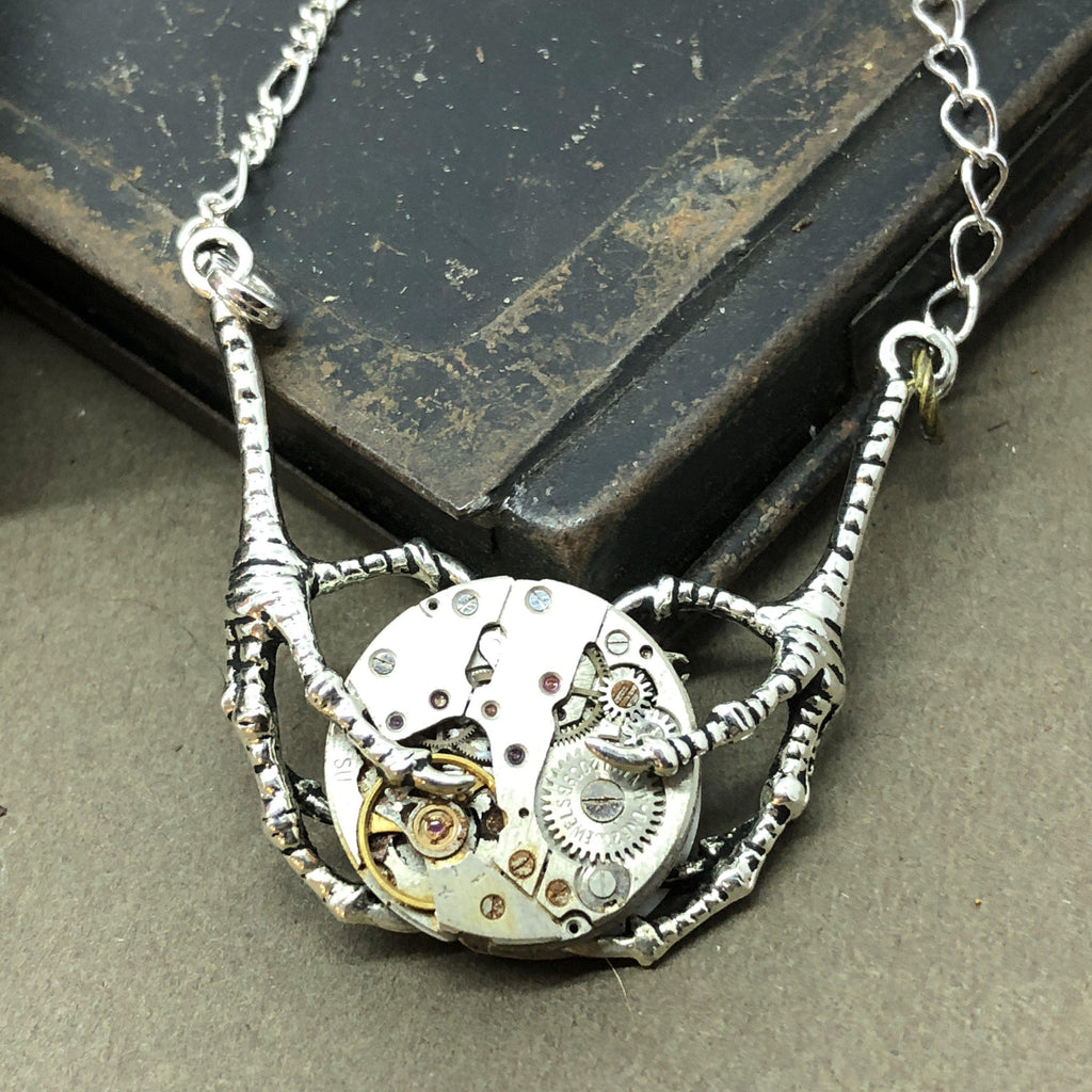 Blanche, Talons necklace - The Victorian Magpie