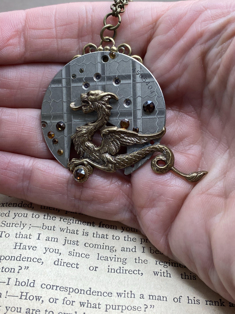 Dragons Treasure - The Victorian Magpie