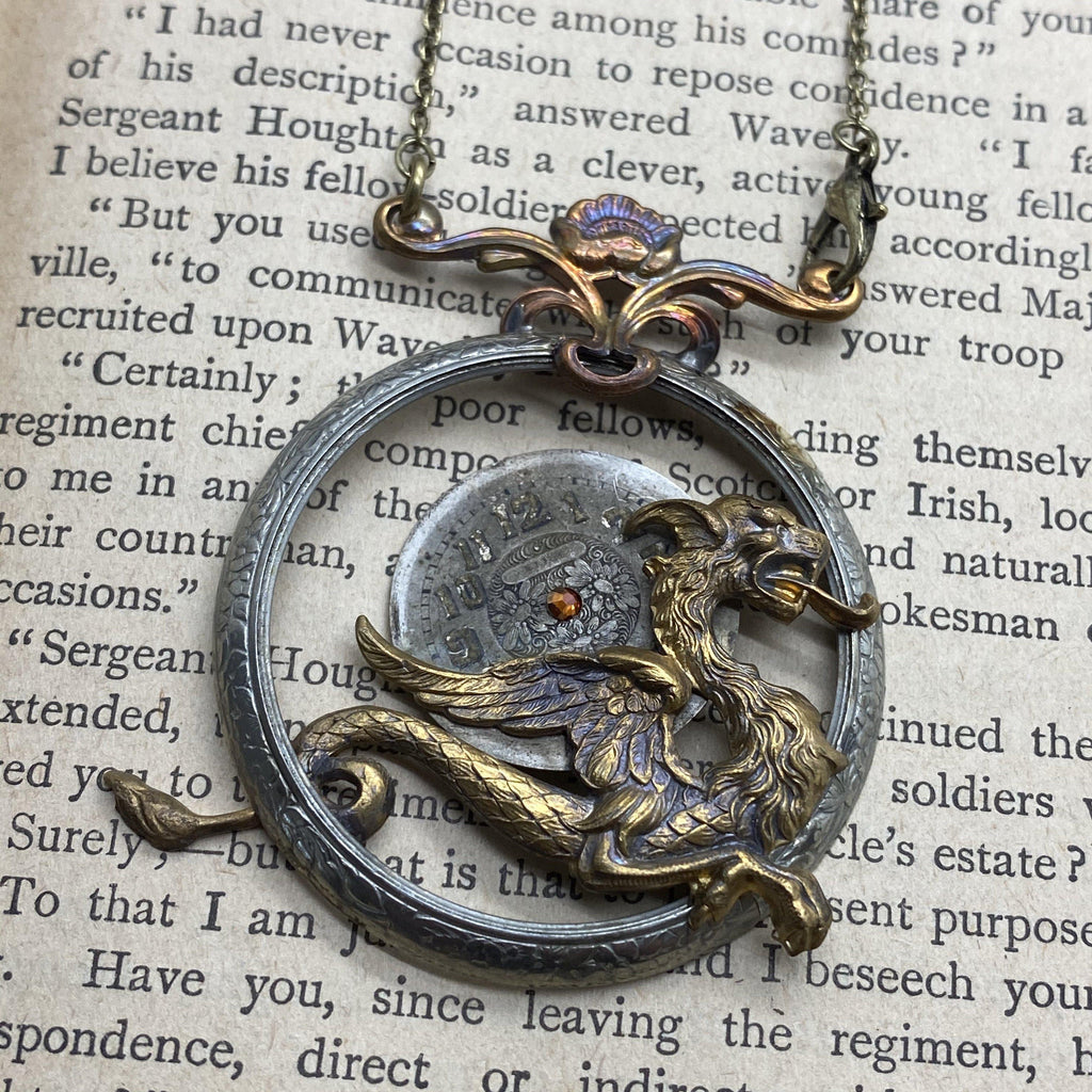 BellaDonna, Dragon Necklace - The Victorian Magpie