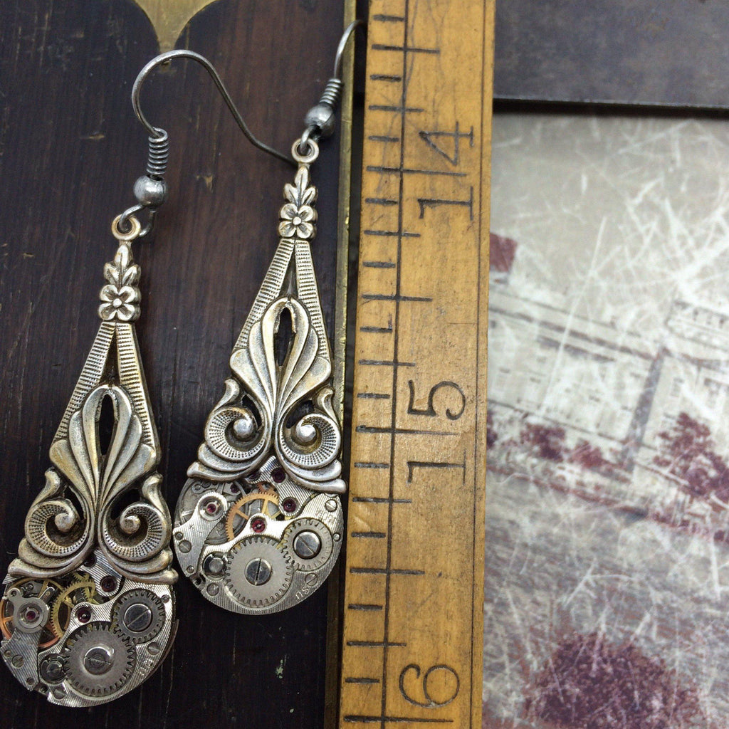 Prudence, Art Deco Drop Earrings