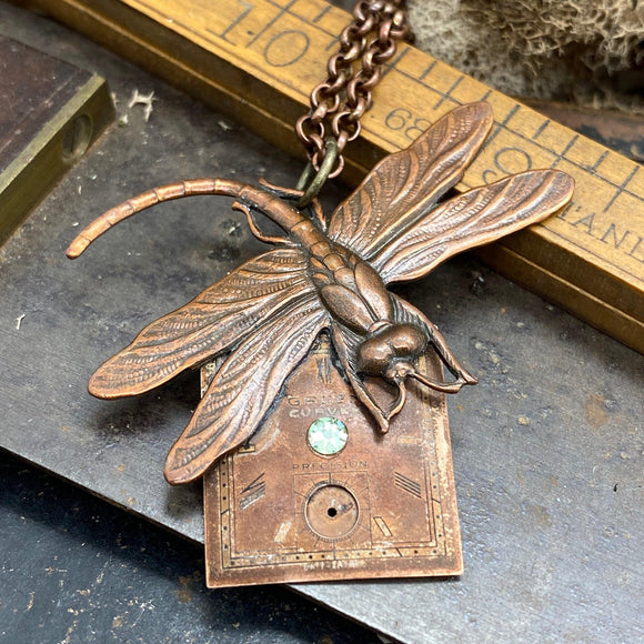 Damsel Fly Necklace