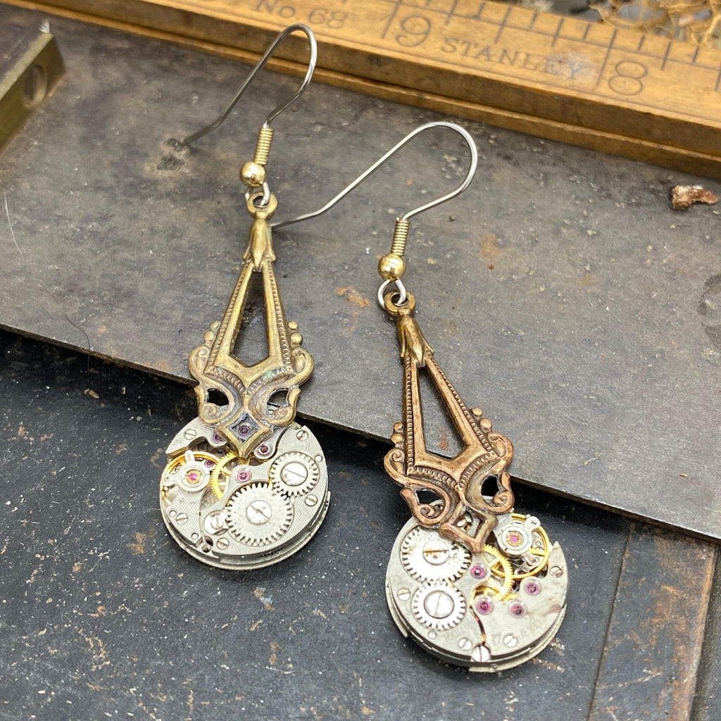 Zadie, Victorian Dramatic Drop Earrings