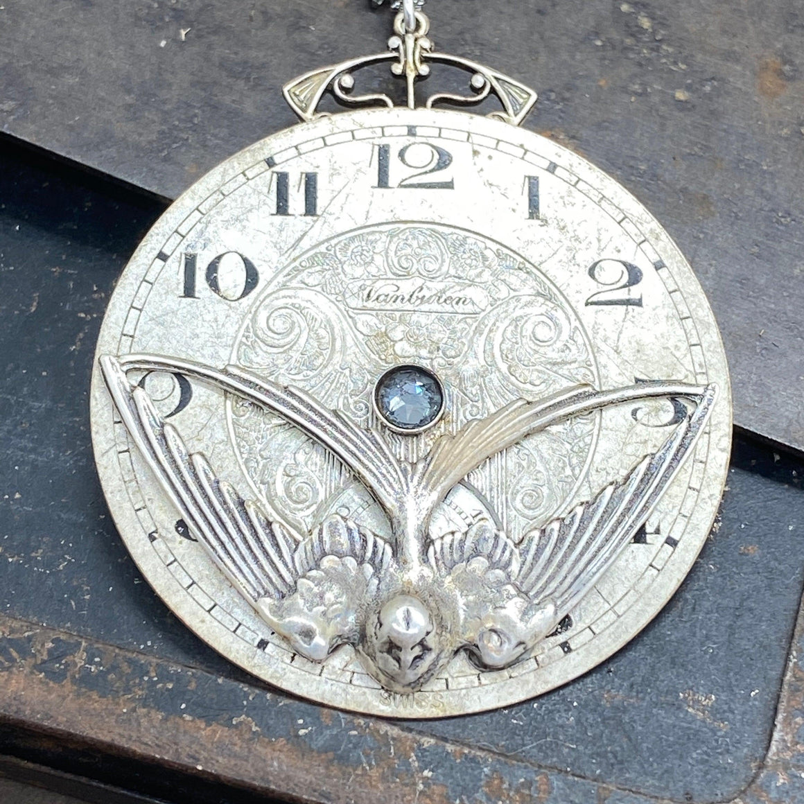 Lenore, Pocket Watch Necklace