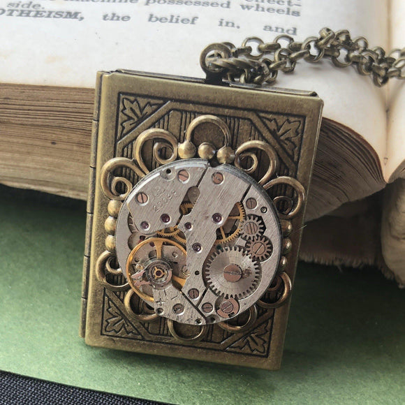 Alicia- book locket