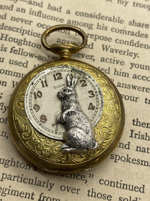 Rabbit Keepsake Locket - The Victorian Magpie