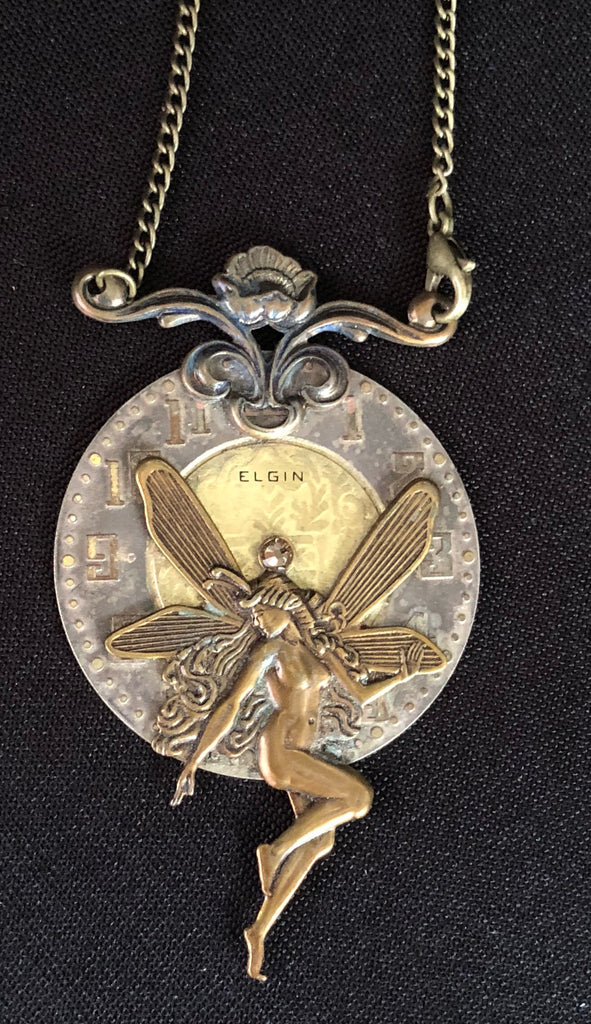 Magdalena, Fairy Pendant - The Victorian Magpie