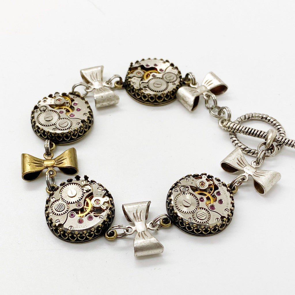Victorian Bow Bracelet - The Victorian Magpie