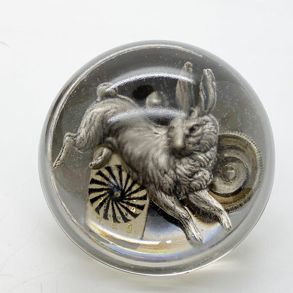 White Rabbit Paperweight