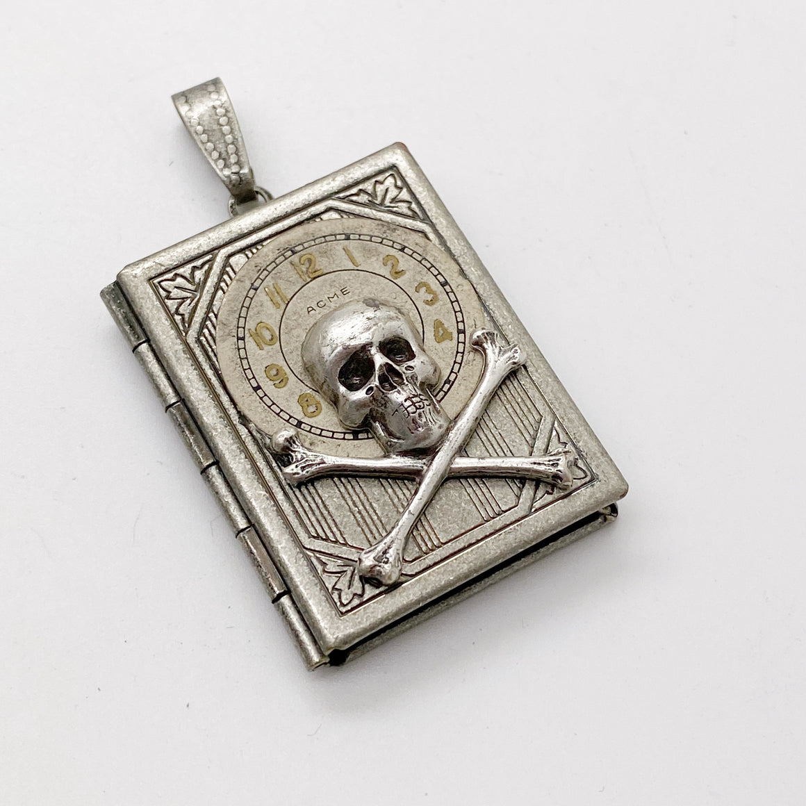 Pirate Book Locket Pendant - The Victorian Magpie