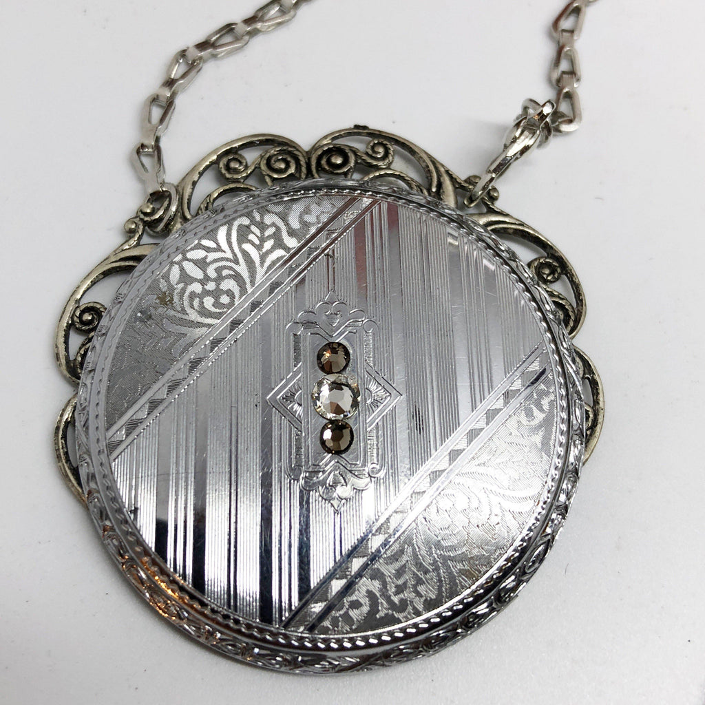 Ada, Pocket Watch Necklace - The Victorian Magpie