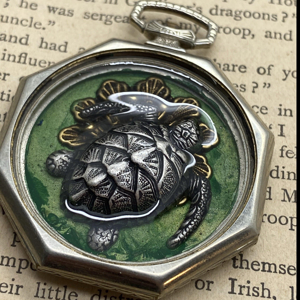 Hudson, Seaturtle Necklace - The Victorian Magpie