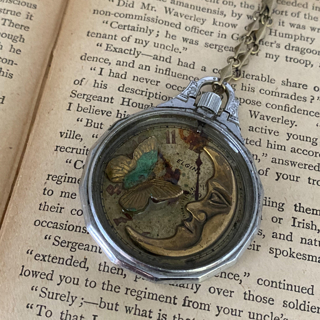 Luna, Shadow Box Pendant - The Victorian Magpie
