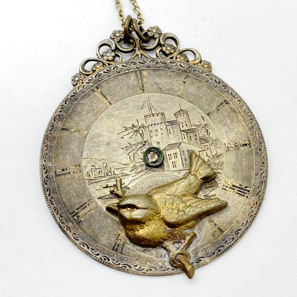 Lydia, Circa 1800 Pocket Watch Pendant