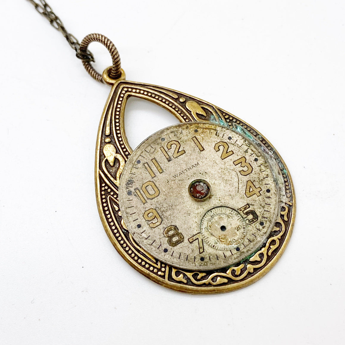Alena, Watch Movement  Necklace - The Victorian Magpie