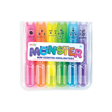 Mini Monster Scented Highlighter Markers