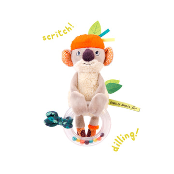 Dans La Jungle Bead Rattle (Koco)