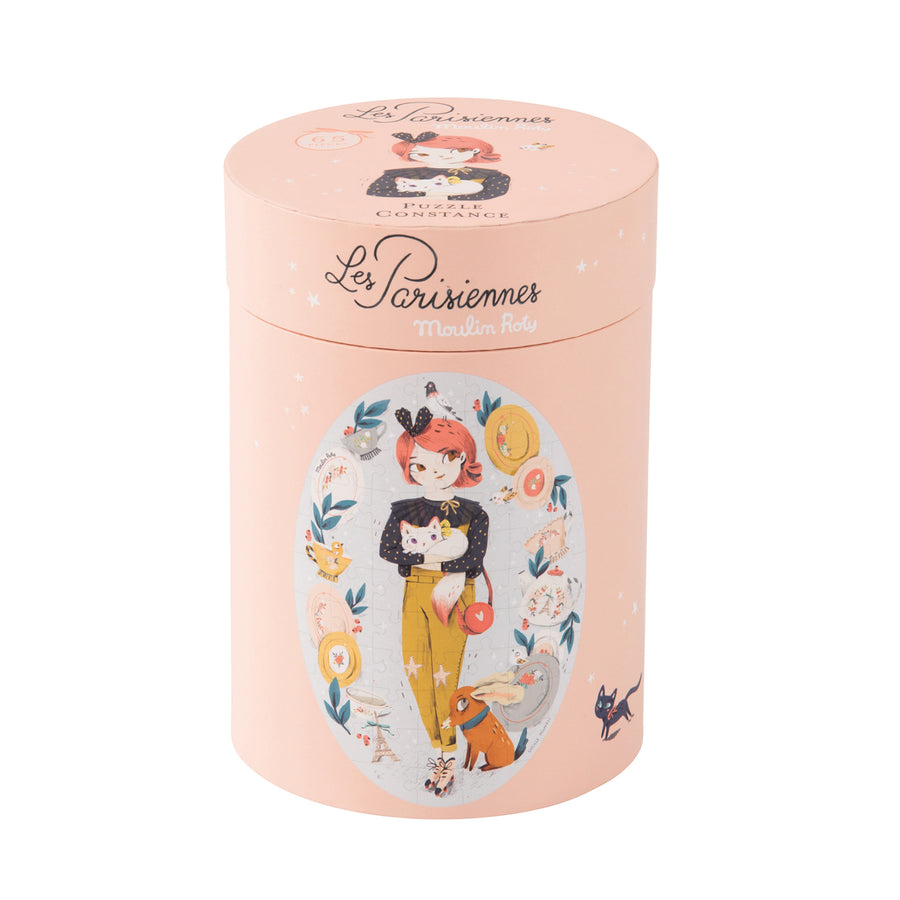 Les Parisiennes Constance 65pc Oval Puzzle in Box 55x38cm by Moulin Roty