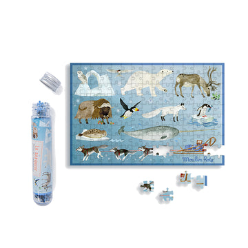 Les Grands Explorateurs 150pc Mini Puzzle (The Arctic)