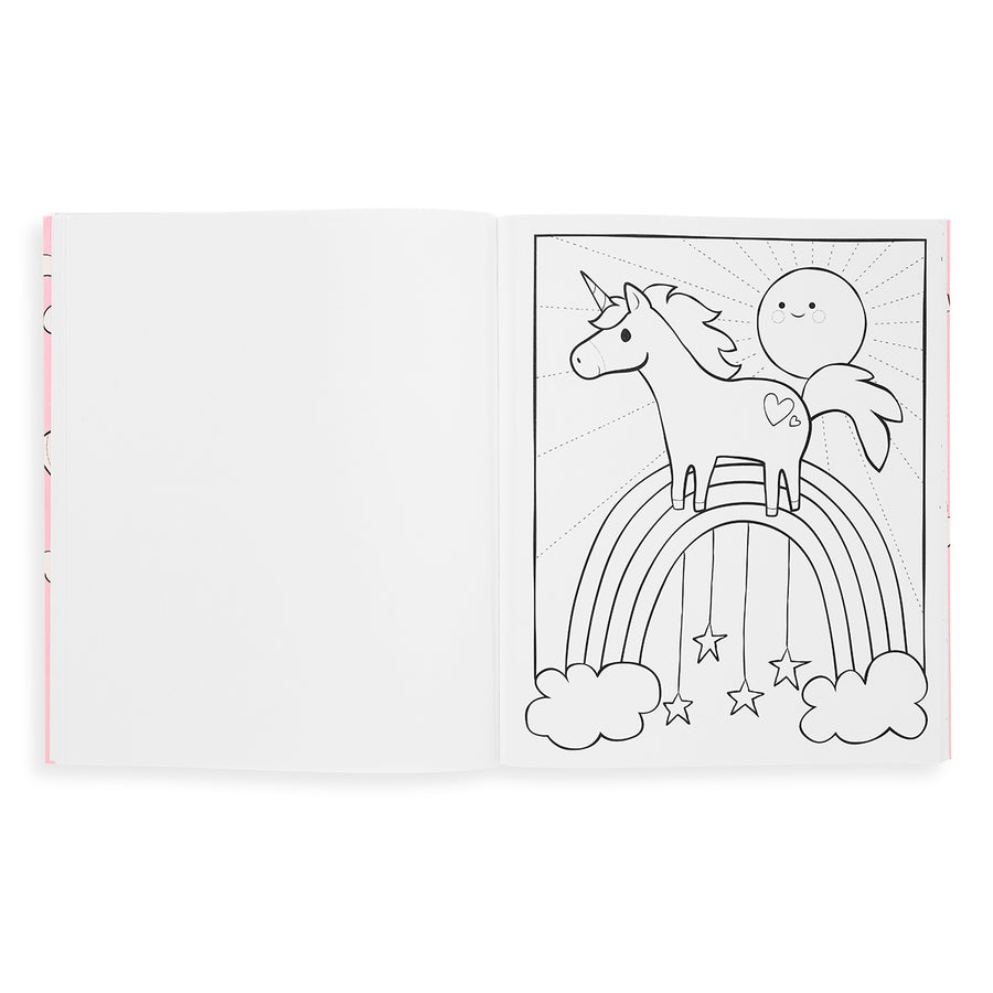 Colorin Book (Enchanting Unicorns)
