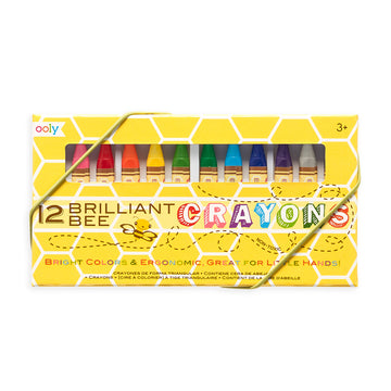 Brilliant Bee Crayons (Set of 12)
