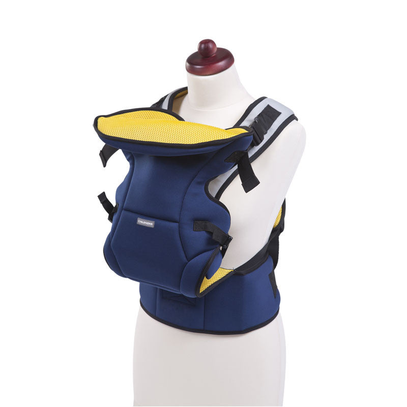 Neoprene Waterproof Baby Carrier (Navy Blue)
