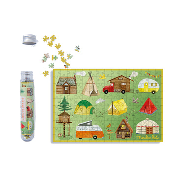 Les Grands Explorateurs 150pc Mini Puzzle (A Night in the Forest)