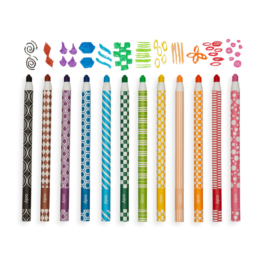 Color Appeel Crayons (Set of 12)