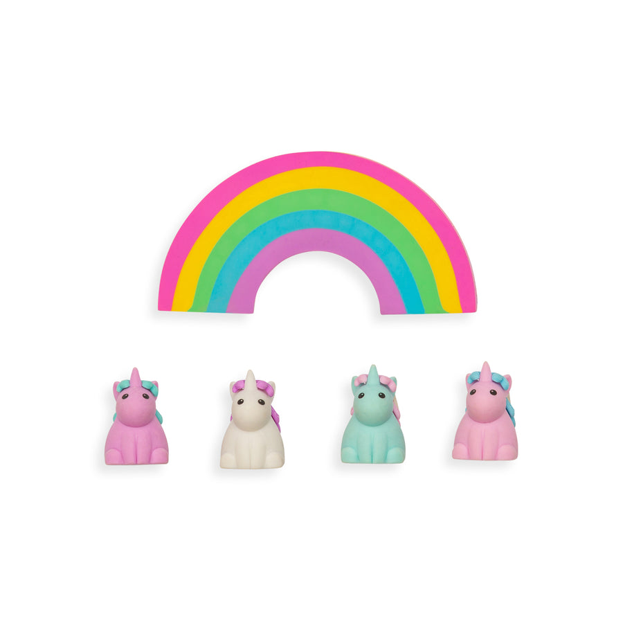 Unique Unicorn Scented Erasers (Set of 5)