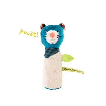 Dans La Jungle Baby Squeaker Rattle (Zimba the Panther)