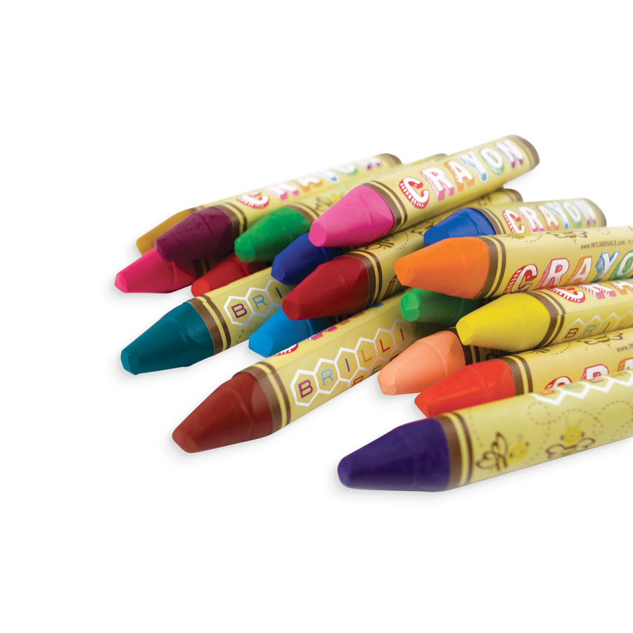 Brilliant Bee Crayons (Set of 24)