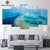 Great Barrier Reef 5 Piece Canvas Print Set