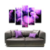 5 Piece Wall Art Jellyfish Canvas Prints