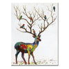 Painted Wall Deer Wall Art Pictures