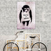 "Banksy Art Graffiti ""Keep it Real"" Street Art Print"
