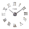 Roman Numerals Clock Wall Sticker