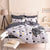 Batman Mask Print Bedding Sets