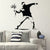 Banksy Thrower Graffiti Vinyl Wall Sticker Decals
