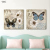 2pcs Butterfly Home Decor Wall Art
