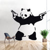 BANKSY PANDA Decal WALL Decor Sticker