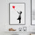 Banksy Ballon Girl Canvas Art Print
