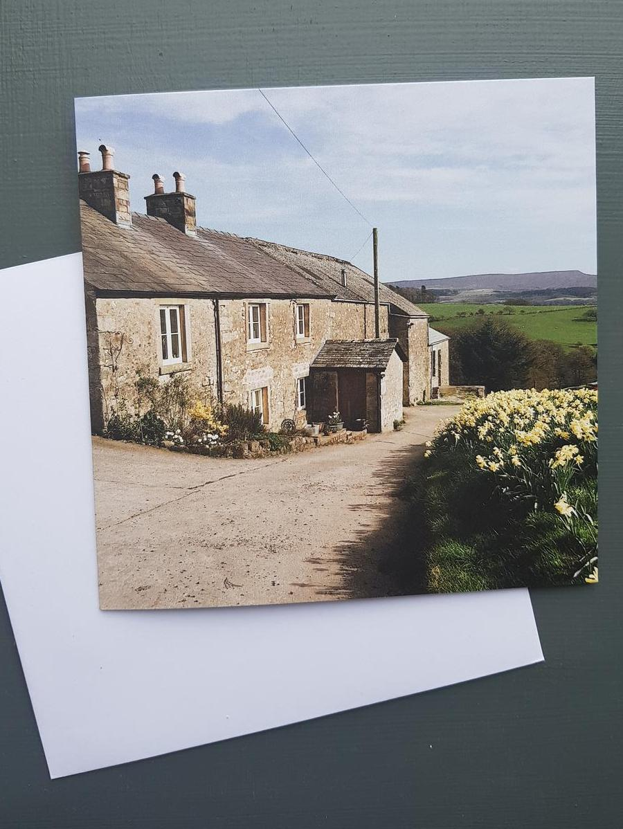 Monkley Ghyll Farmhouse Greeting card