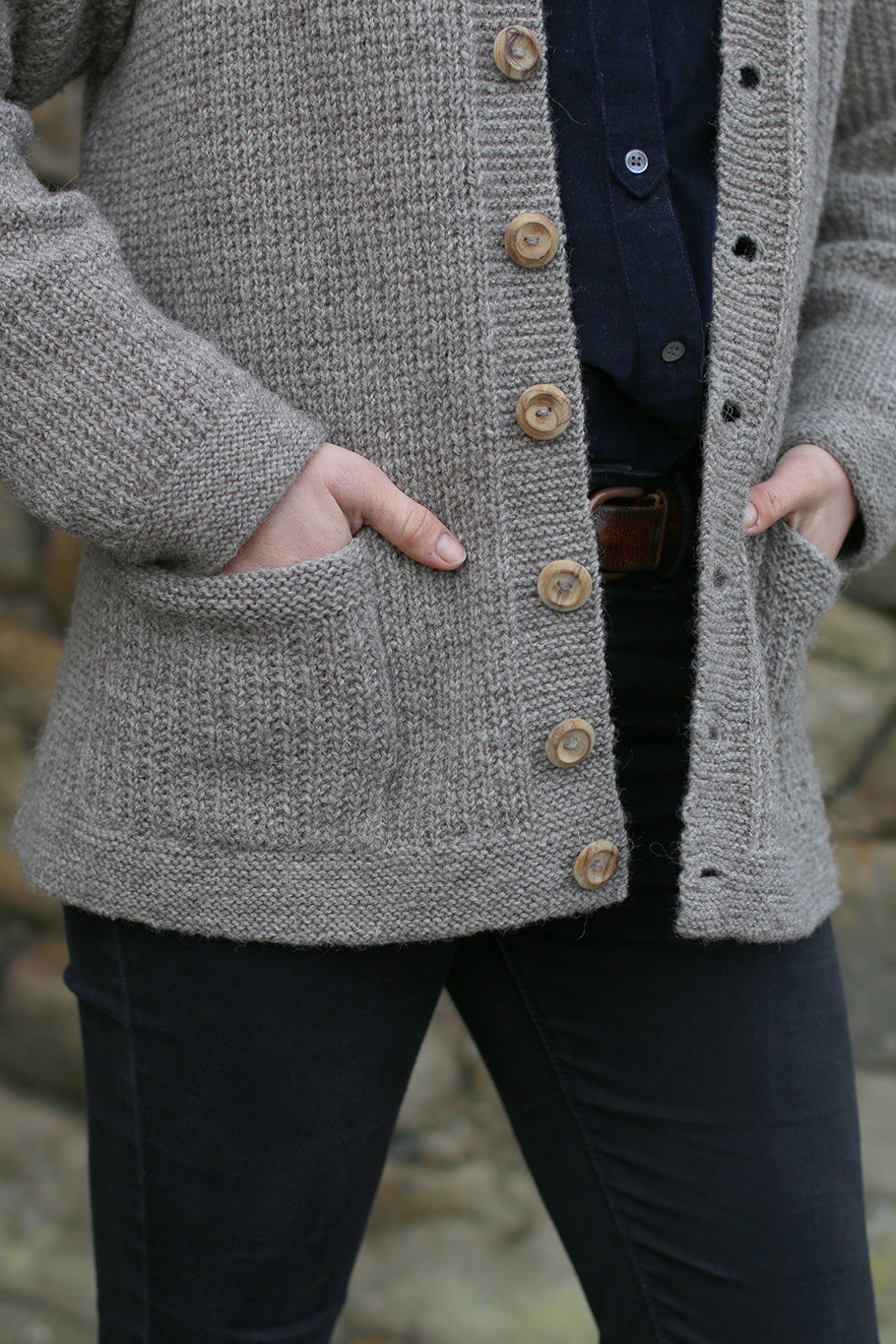 Herbert Cardigan: Yarn and Pattern Kit