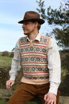 Pattern - Wartime Farm Sleeveless Pullover - Men's