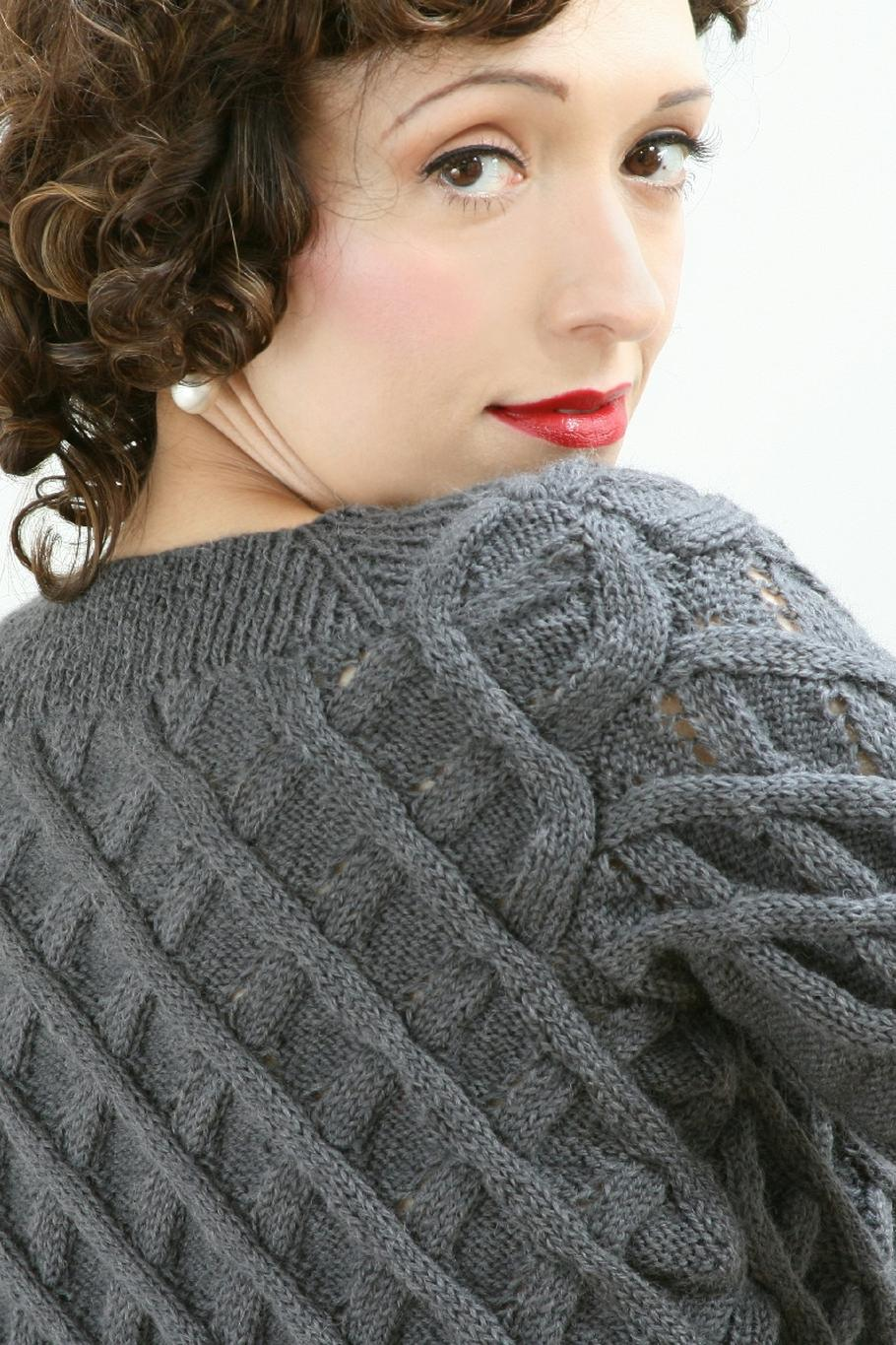 lady's Jumper Cardigan