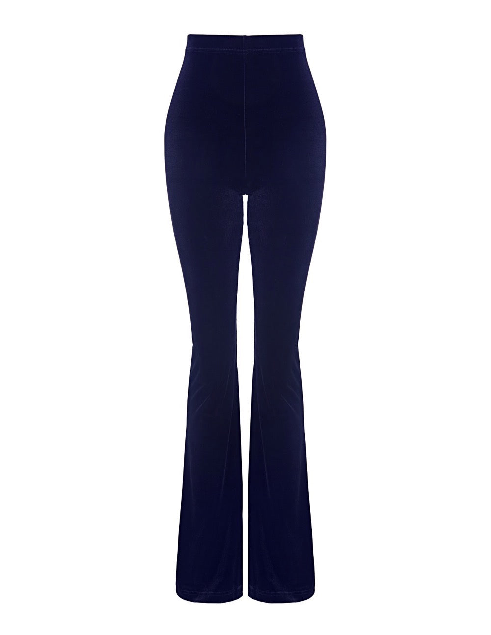 navy blue velvet flares sas womens clothing uk