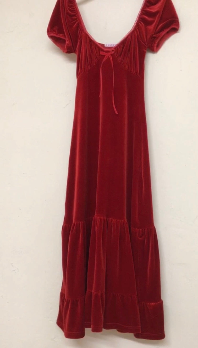 Scarlet maxi Antonia dress