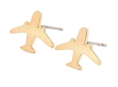 KENNEDY Airplane Stud Earrings