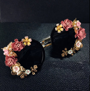 RYLEE Baroque Floral Sunglasses