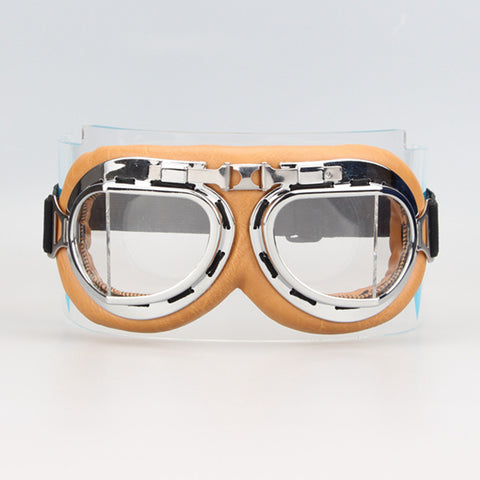 Retro Motorcycle Goggles-Eyewear-omniqueen-festival-jewelry
